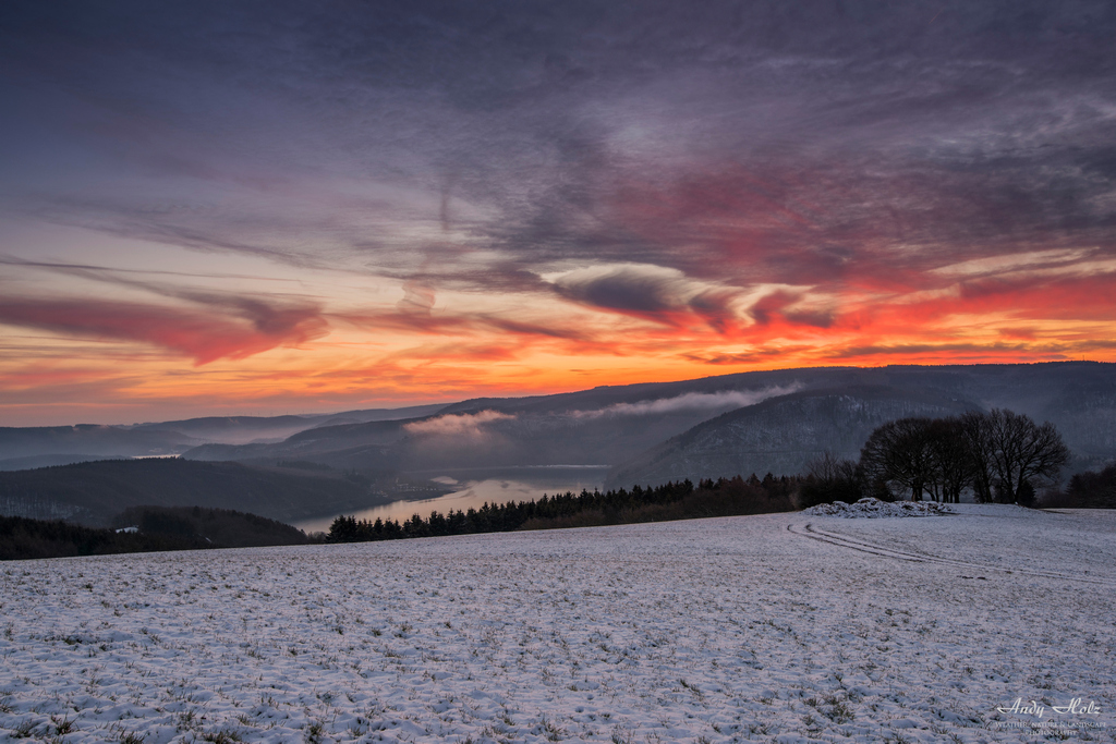 Der Winter 2018/2019 in der Eifelregion